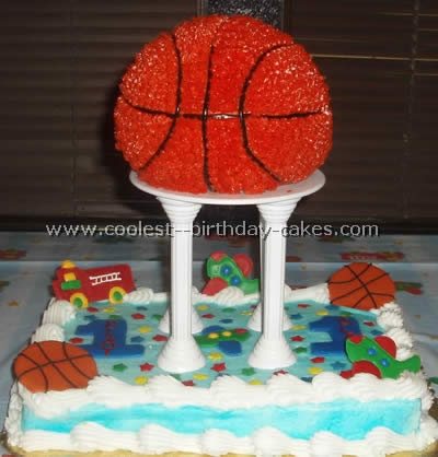 Coolest Basketball Cakes and How-To Tips