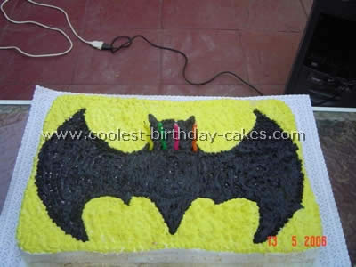 Batman Birthday Cake Picture