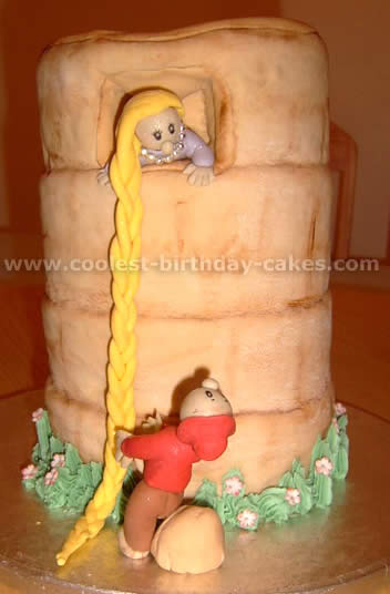 Rapunzel Cake Photo