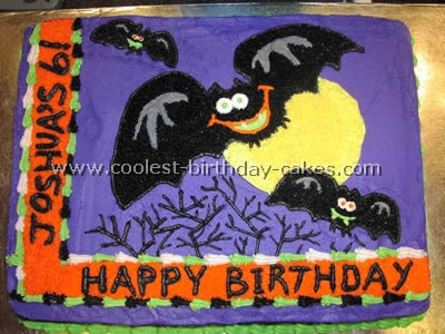Miraculous Best Cake Recipes For Bat Shaped Cakes Birthday Cards Printable Trancafe Filternl