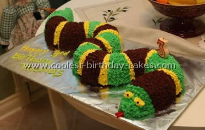 Astounding Coolest Snake Birthday Cake Decorating Idea Funny Birthday Cards Online Aboleapandamsfinfo
