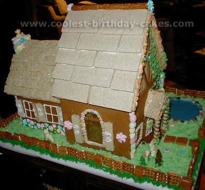House Birthday Cake Decorating Ideas
