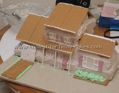 House Birthday Cake Decorating Ideas