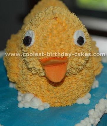 Rubber Ducky Birthday Cake Designs