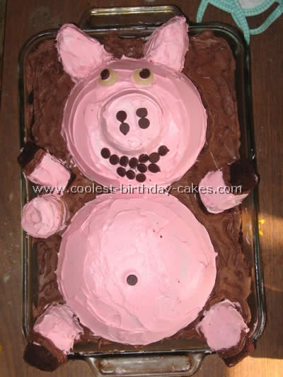 Coolest Diy Birthday Cake Ideas Especially For Pig Lovers