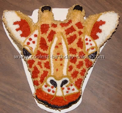 Coolest Giraffe Cakes and Birthday Cake Photo Gallery
