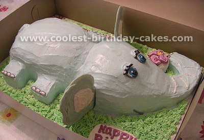 Elephant Birthday Cake Pictures