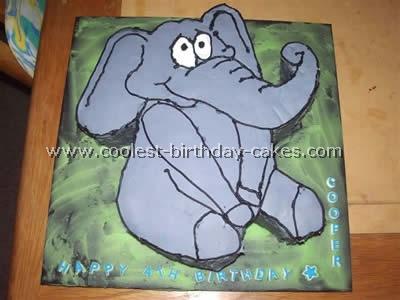 Coolest Elephant Birthday Cake Pictures