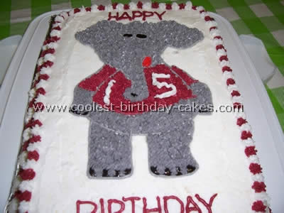Coolest Elephant Birthday Cake Pictures