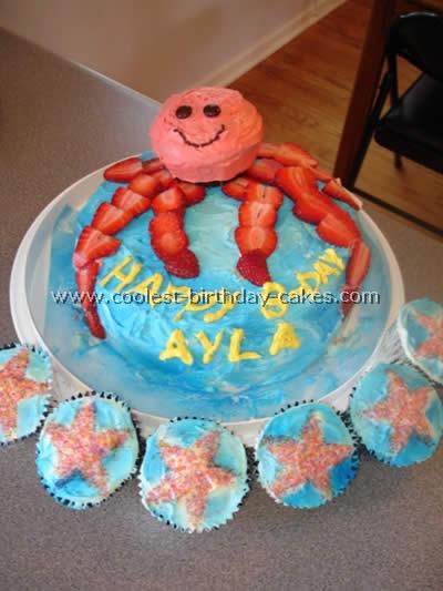Octopus Birthday Cake Photo