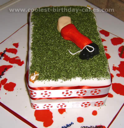 Soccer Ball Birthday Cake Picture