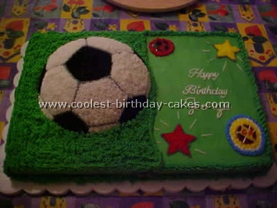 Wondrous Coolest Soccer Birthday Cake Recipes Funny Birthday Cards Online Alyptdamsfinfo