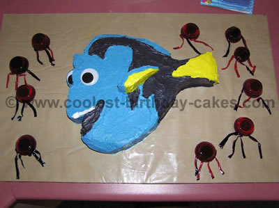 Dory Birthday Cakes for Kids