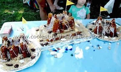 Beach Cake Decoration
