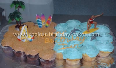Coolest Surfing Birthday Cake Decorations