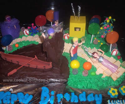 Coolest Charlie and the Chocolate Factory Birthday Cake Photos