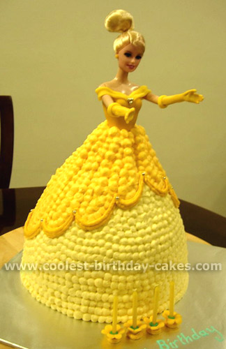 Beauty and the Beast Birthday Cake Pictures