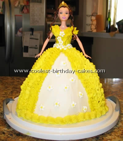 Groovy Coolest Belle Birthday Cake Pictures Personalised Birthday Cards Paralily Jamesorg