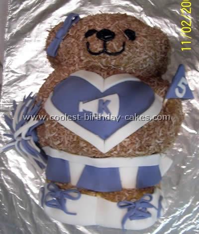 Coolest Cheerleading Birthday Cakes