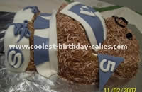 Cheerleader Cake