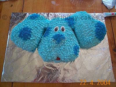 Coolest Blues Clue Cakes