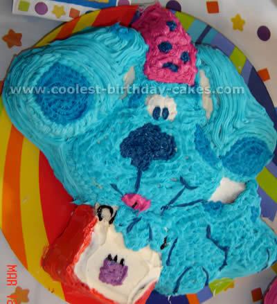 Blue's Clues Cake