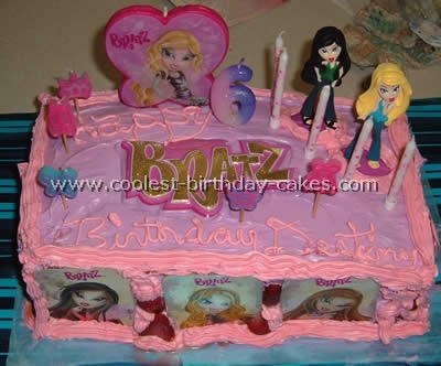 Bratz Birthday Cake Picture