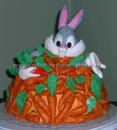 Incredible Coolest Bugs Bunny Cake Ideas And Photos Personalised Birthday Cards Beptaeletsinfo