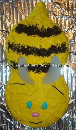 Bumble Bee Cake Photo