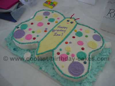 Fine Cool Homemade Butterfly Cake Ideas And How To Tips Funny Birthday Cards Online Alyptdamsfinfo