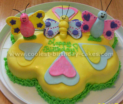 Remarkable Coolest Butterfly Cakes And Butterfly Birthday Cake Designs Personalised Birthday Cards Epsylily Jamesorg