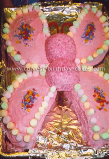 Fine Coolest Butterfly Cakes And Butterfly Birthday Cake Designs Funny Birthday Cards Online Alyptdamsfinfo