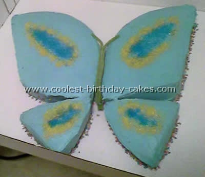 Cool Coolest Butterfly Cakes And Butterfly Birthday Cake Designs Personalised Birthday Cards Epsylily Jamesorg