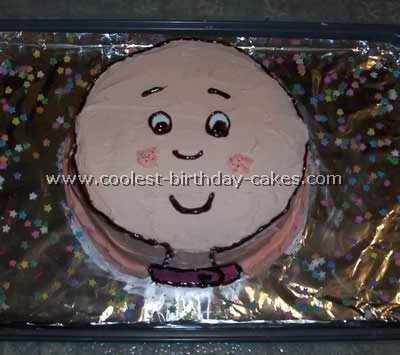Wondrous Coolest Caillou Cakes On The Webs Largest Homemade Birthday Cake Funny Birthday Cards Online Alyptdamsfinfo