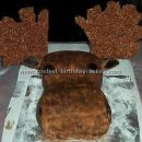 Coolest Moose Cakes and Cake Decorating Instructions