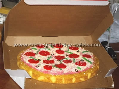 Miraculous Awesome Homemade Pizza Cake Decorating Tips And Ideas Funny Birthday Cards Online Elaedamsfinfo