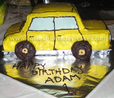 Car Cake Photo