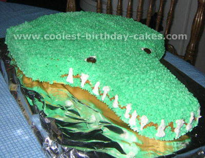 Alligator Cake Photo