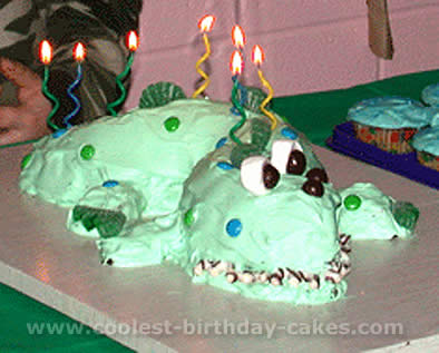 Miraculous Coolest Alligator And Crocodile Cake Decoration Idea Funny Birthday Cards Online Alyptdamsfinfo