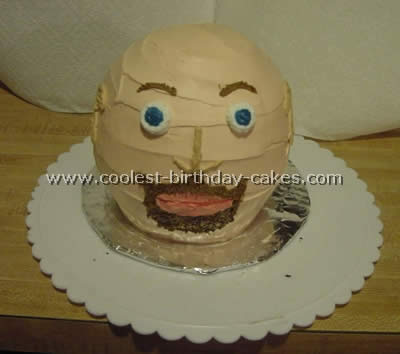 Head-Shaped Cake Decoration Ideas