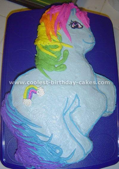Incredible Coolest Homemade My Little Pony Cakes Funny Birthday Cards Online Kookostrdamsfinfo