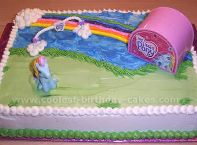 My Little Pony Cake Design Photo