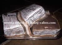 Book-Shaped Cake
