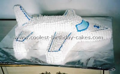 Airplane Cake Photo
