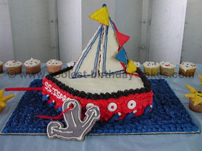 Boat Cake Photo