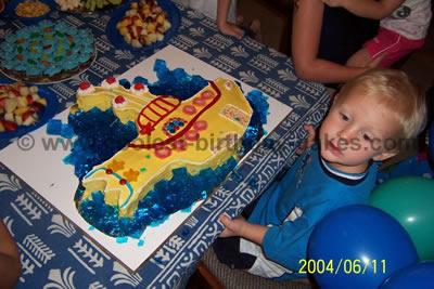 Submarine Cake Photo