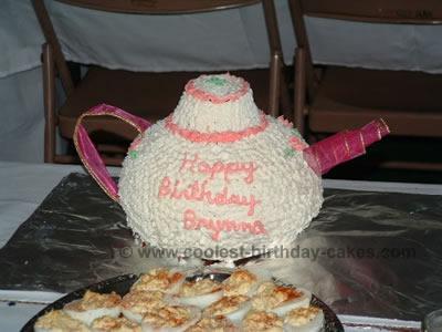 Teapot Cake Recipe