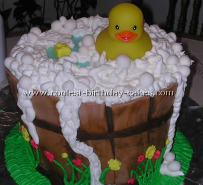 Rubber Ducky Kid Birthday Cake Ideas