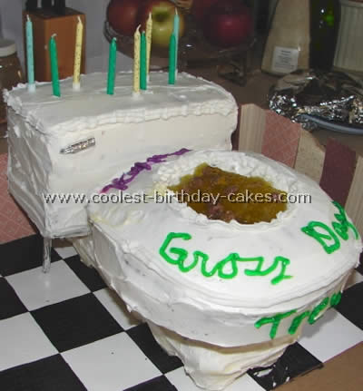 Prime Coolest Birthday Cake Photo Ideas Of Toilet Cakes Personalised Birthday Cards Arneslily Jamesorg