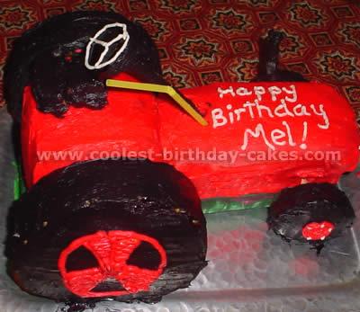 Tractor Cake Photo